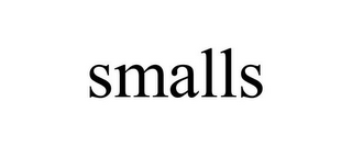 mark for SMALLS, trademark #77156478