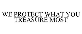 mark for WE PROTECT WHAT YOU TREASURE MOST, trademark #77157168