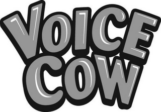 mark for VOICE COW, trademark #77157385
