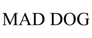 mark for MAD DOG, trademark #77157657