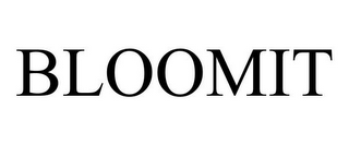 mark for BLOOMIT, trademark #77158692