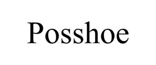 mark for POSSHOE, trademark #77158926