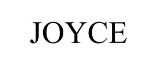 mark for JOYCE, trademark #77160320