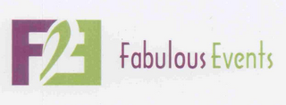 mark for FE FABULOUS EVENTS, trademark #77160722
