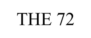 mark for THE 72, trademark #77161969