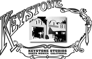 mark for KEYSTONE KEYSTONE STUDIOS SANTA MONICA CALIFORNIA, trademark #77161978
