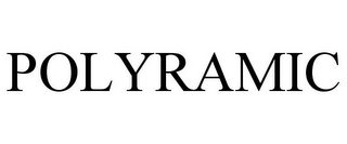 mark for POLYRAMIC, trademark #77163606