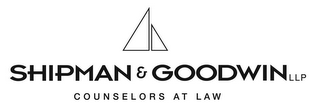 mark for SHIPMAN & GOODWIN LLP COUNSELORS AT LAW, trademark #77163794