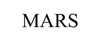 mark for MARS, trademark #77164496