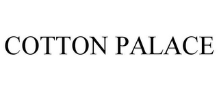 mark for COTTON PALACE, trademark #77165331