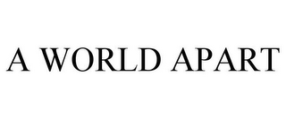 mark for A WORLD APART, trademark #77166124