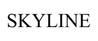 mark for SKYLINE, trademark #77166383