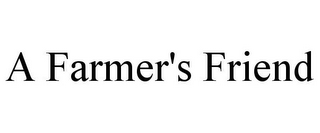 mark for A FARMER'S FRIEND, trademark #77166728