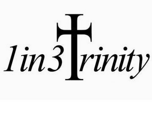 mark for 1IN3TRINITY, trademark #77167079