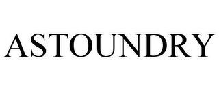 mark for ASTOUNDRY, trademark #77167401