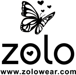 mark for ZOLO WWW.ZOLOWEAR.COM, trademark #77167718