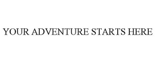 mark for YOUR ADVENTURE STARTS HERE, trademark #77167773