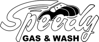 mark for SPEEDY GAS & WASH, trademark #77168319