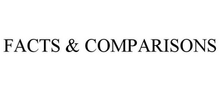 mark for FACTS & COMPARISONS, trademark #77168744