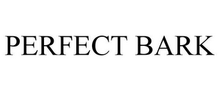 mark for PERFECT BARK, trademark #77170698