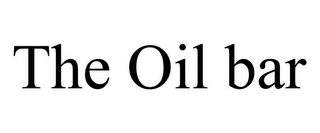 mark for THE OIL BAR, trademark #77171045