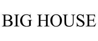 mark for BIG HOUSE, trademark #77171153