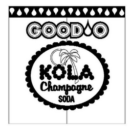 mark for GOOD O KOLA CHAMPAGNE SODA, trademark #77174065