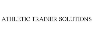 mark for ATHLETIC TRAINER SOLUTIONS, trademark #77174139