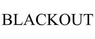 mark for BLACKOUT, trademark #77174359