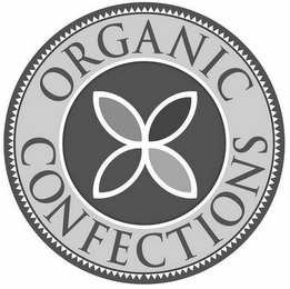 mark for ORGANIC CONFECTIONS, trademark #77174804