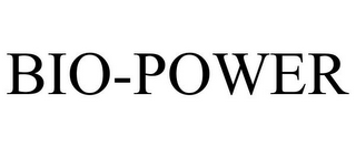 mark for BIO-POWER, trademark #77175474