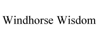 mark for WINDHORSE WISDOM, trademark #77176046