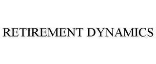 mark for RETIREMENT DYNAMICS, trademark #77176142