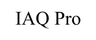 mark for IAQ PRO, trademark #77177959