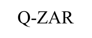 mark for Q-ZAR, trademark #77178165