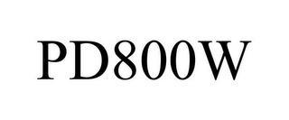 mark for PD800W, trademark #77179505