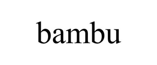 mark for BAMBU, trademark #77181381
