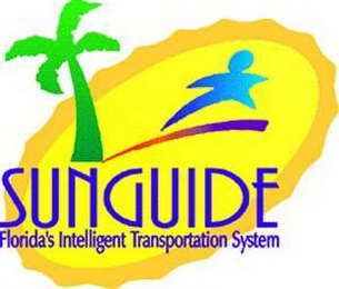 mark for SUNGUIDE FLORIDA'S INTELLIGENT TRANSPORTATION SYSTEM, trademark #77182186