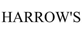 mark for HARROW'S, trademark #77182730