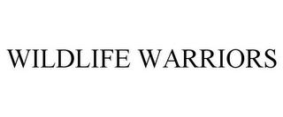 mark for WILDLIFE WARRIORS, trademark #77184061