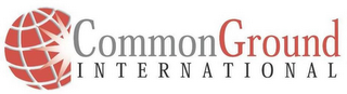 mark for COMMON GROUND INTERNATIONAL, trademark #77184131