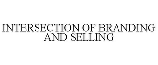 mark for INTERSECTION OF BRANDING AND SELLING, trademark #77185954