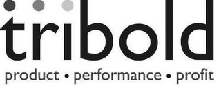 mark for TRIBOLD PRODUCT · PERFORMANCE · PROFIT, trademark #77187301
