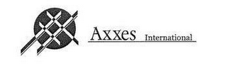mark for AXXES INTERNATIONAL, trademark #77187317
