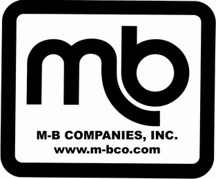 mark for MB M-B COMPANIES, INC. WWW.M-BCO.COM, trademark #77187429