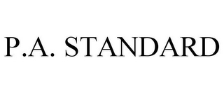 mark for P.A. STANDARD, trademark #77187945