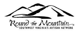 mark for 'ROUND THE MOUNTAIN SOUTHWEST VIRGINIA'S ARTISAN NETWORK, trademark #77187990