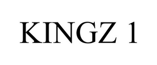 mark for KINGZ 1, trademark #77188803