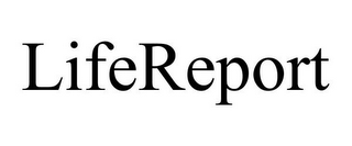 mark for LIFEREPORT, trademark #77189715