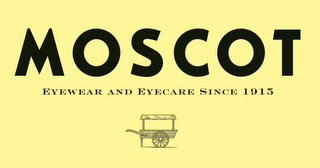 mark for MOSCOT EYEWEAR AND EYECARE SINCE 1915, trademark #77190020